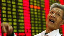 Talfahrt der Börsen China