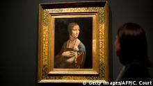 London Gemäde Lady with an Ermine von Leonardo da Vinci