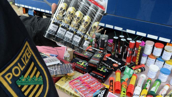 Deutschland LKA-Sachsen warnt vor Pyrotechnik ohne Zulassung