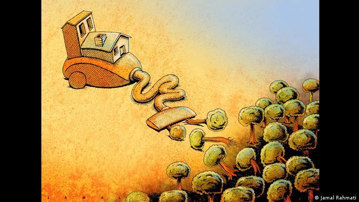 Karikaturen Jamal Rahmati jaroo (Jamal Rahmati)
