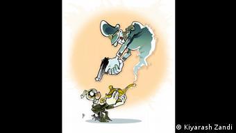 Iran Karikaturen Kiyarash Zandi Aladdin (Kiyarash Zandi)