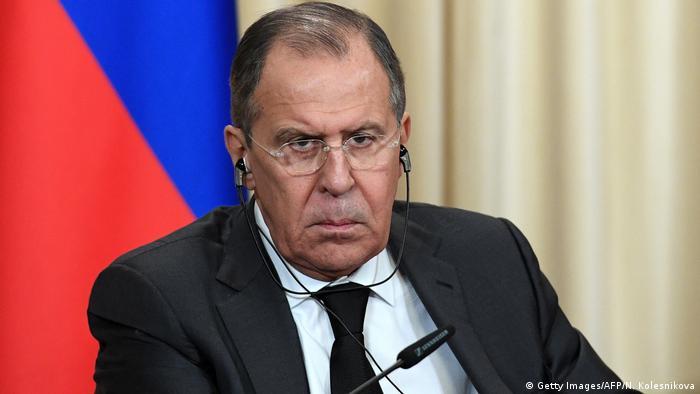 Russland Sergej Lawrow in Moskau