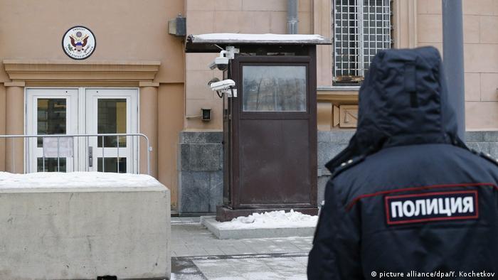 Russland US Botschaft in Moskau