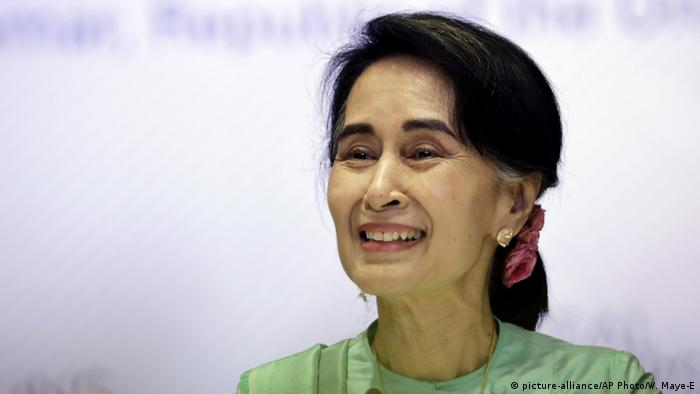 United Nations - Aung San Suu Kyi (picture-alliance/AP Photo/W. Maye-E)