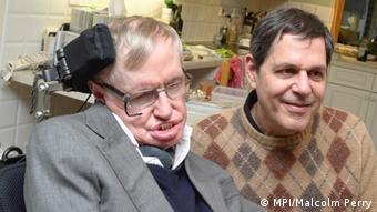 Stephen Hawking i Bruce Allen
