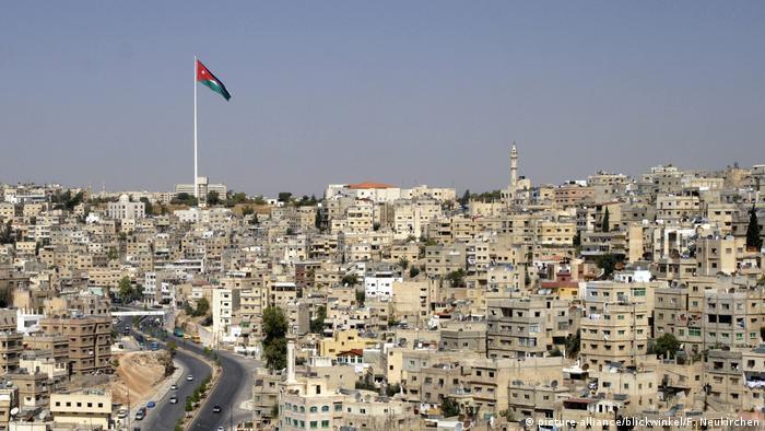 A panorama of Amman