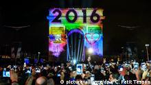 Frankreich | Silvesterfeier 2016 in Paris