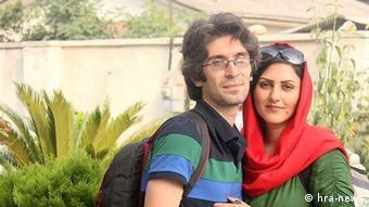 Bildergalerie   Galerie Woche   Golrokh Ebrahimi und Arash Sadeghi (hra-news)