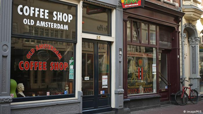 Niederlande Coffee Shop in Amsterdam