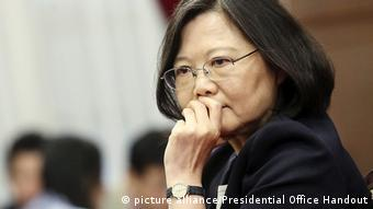 Taiwan Tsai Ing-wen (picture alliance/Presidential Office Handout)
