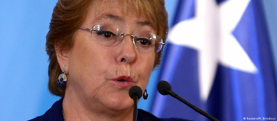 Presidente do Chile, Michelle Bachelet