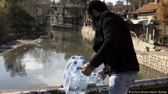 Syrien Damaskus Wasserkrise (picture-alliance/dpa/Y. Badawi)