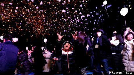 Japan Tokyo Jahreswechsel (Reuters/I. Kato)