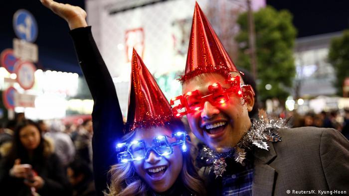 Japan Tokyo Jahreswechsel (Reuters/K. Kyung-Hoon)
