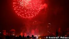 Kenia Nairobi - Feuerwerk zum neuen Jahr