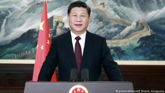 China - Xi Jinping Speech zum neuen Jahr (picture-alliance/AP Photo/L. Hongguang)