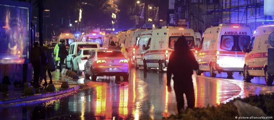 Ataque em Istambul no réveillon deixa dezenas de mortos