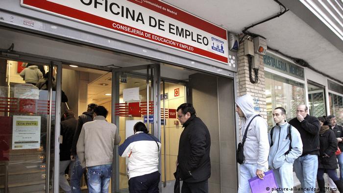Spanien - Arbeitsamt in Madrid