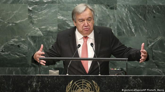 Antonio Guterres (picture alliance/AP Photo/S. Wenig)