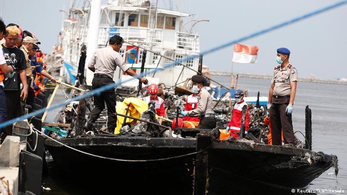 Jakarta Fährunglück Fähre (Reuters/D.Whiteside)