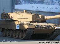 Leopard II A4 tank