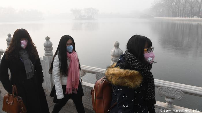 China Peking Smog (Getty Images/AFP/G. Baker)