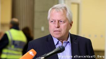 Deutschland Polizeipräsident Jürgen Mathies Silvesternacht in Köln