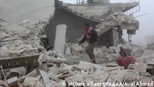 Syrien Assad Regime verletzt Waffenruhe in Aleppo