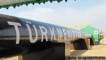 Turkmenistan Eröffnung der Ost-West Gas Pipeline in Shatlyk