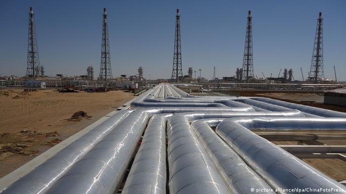 Добыча газа в Туркмении