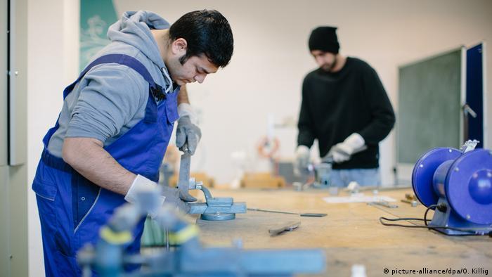 Deutschland Flüchtlinge Fortbildung