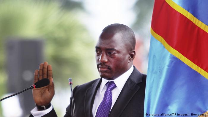 The DRCongo's President Joseph Kabila