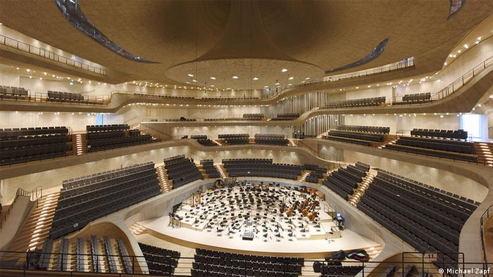 Deutschland Elbphilharmonie großer Saaal