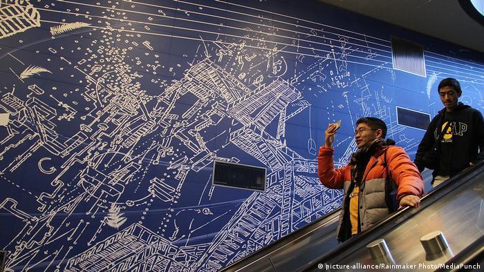 New York City Eröffnung von drei neuen U-Bahn-Stationen