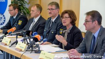 Deutschland Saarbrücken PK zur Terrorfinanzierung (picture-alliance/dpa/O. Dietze)