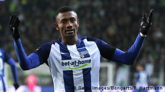 Fußballspieler Salomon Kalo von Hertha BSC Berlin - Bundesliga