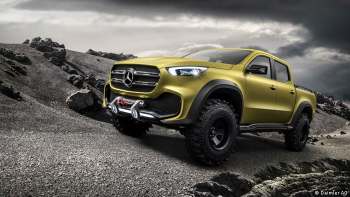 Mercedes-Benz Concept X-CLASS – Erster Ausblick auf den neuen Pickup mit Stern (Daimler AG)