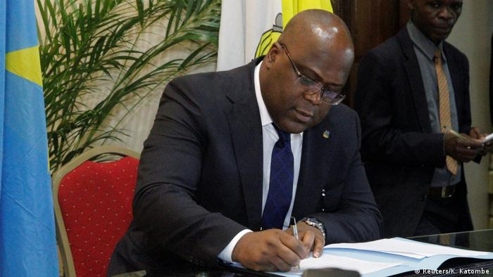 Felix Tshisekedi, son of Etienne Tshisekedi, late Congolese opposition leade