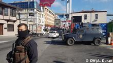 Türkei Istanbul Ortaköy nach dem Anschlag