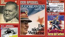 Startbild Bildergalerie Der Spiegel und Jugoslawien