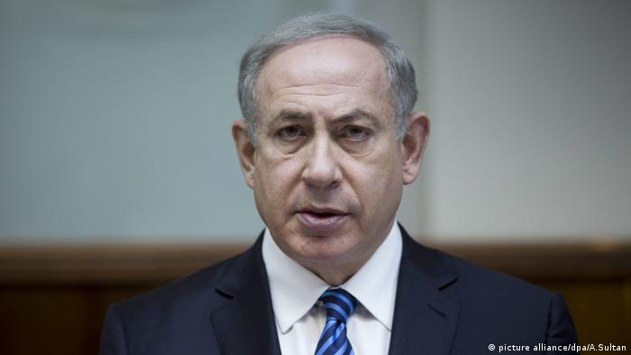 Israel Benjamin Netanyahu (picture alliance/dpa/A.Sultan)