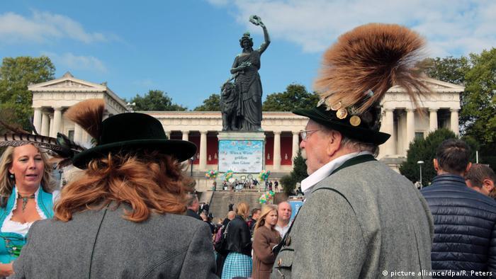 Deutschland Tradition in Bayern Symbolbild