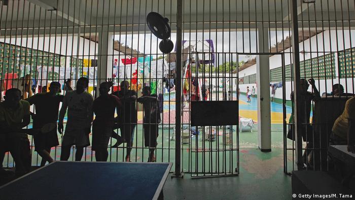 Brasilien Manaus Gefängnis Anisio Jobim