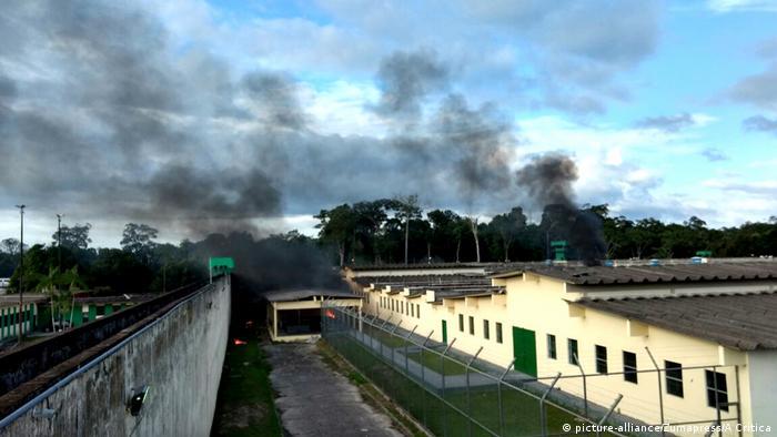 黑帮火拚 巴西监狱暴动60人死亡