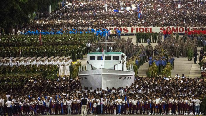 Cuba marks revolution with military parade, tribute to Fidel Castro