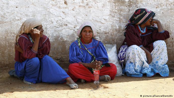 Mujeres indígenas de México.
