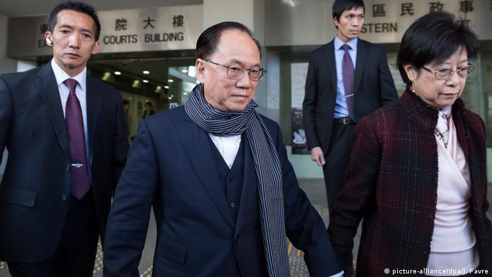 Hongkong ehemaliger Verwaltungschef Donald Tsang (picture-alliance/dpa/J. Favre)