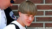USA Dylann Storm Roof