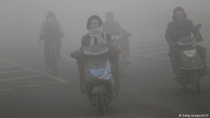 China Smog in Zhengzhou
