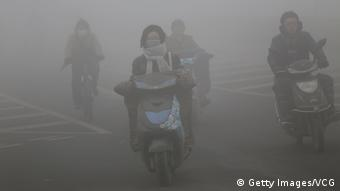 China Smog in Zhengzhou (Getty Images/VCG)